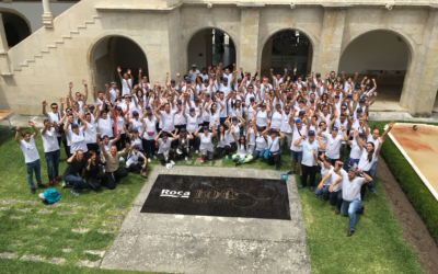 Team building: Mosaiccos participate in the ROCA mosaic challenge: Team building in 8 differentes cities