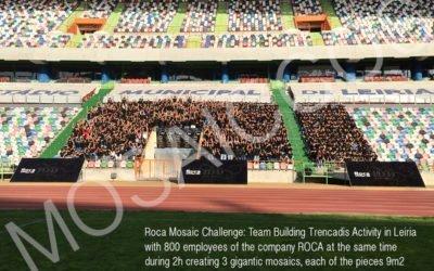 Team building Event 800 pax: ROCA MOSAIC CHALLENGE