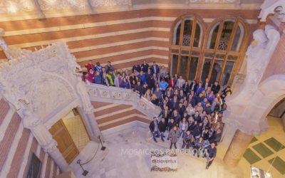 Team Building Event at atmospheric Hospital De Sant Pau in Barcelona!